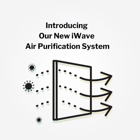 Introducing our new iWave Air Purification System