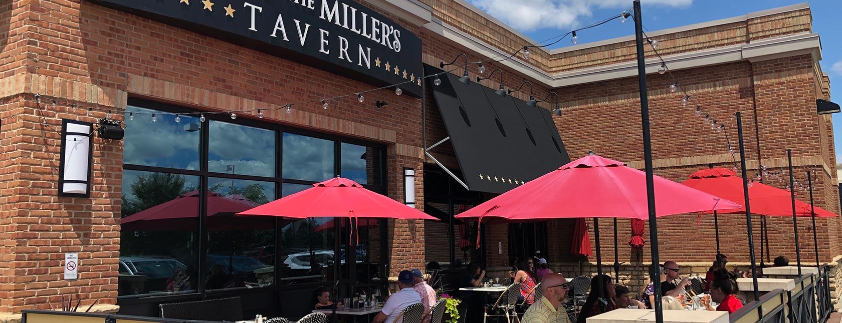 Exterior patio at Matt the Miller's Tavern at Gemini Place